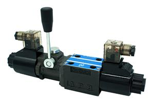 Solenoid Operated Directional Valve (SWHL-G02 with Manual Handle)