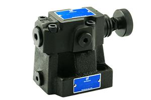 DRF Low Noise Pilot Operated Relief Valve