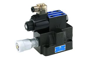 Solenoid Operated Speed Control Valve